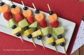 plastic fruit skewers fruit kabobs for kids recipe pocket change gourmet