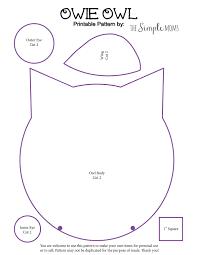 printable owl pattern kids coloring