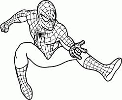 spiderman sheets coloring