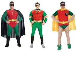 Robin Halloween Costume Superhero Heroine Halloween Costumes Men Women Holidappy