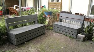 how to make a wooden garden bench excellent easy garden storage bench 16 steps with pictures