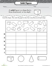 plane and solid shapes worksheets huanyii com