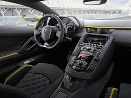lamborghini inside 2016 lamborghini unveils upgraded aventador s supercar business insider