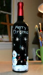How To Decorate A Wine Bottle Best 25 Christmas Decorated Wine Bottles Ideas On Pinterest