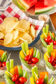 Summer Lunch Recipes Entertaining Individual Veggie Cups Party Appetizer Unsophisticook