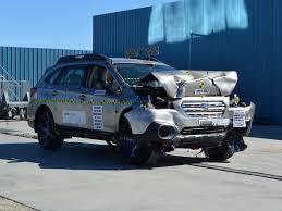car subaru 2017 2015 2017 subaru outback legacy nhtsa frontal impact youtube