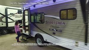 Sportsman Rv Floor Plans Kz Rv Sportsmen Classic Toy 180th Youtube