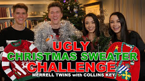 ugliest sweater sweater challenge collins key