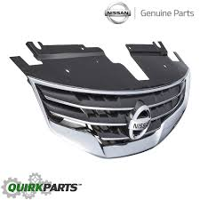 nissan altima coupe accessories 2012 2010 2012 nissan altima front bumper chrome grille grill shell w