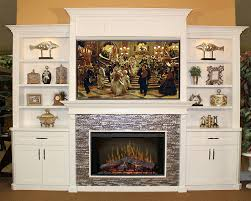 built in entertainment center with electric fireplace furniture b design b