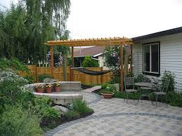 Backyard Decor Small Backyard Patio Simple With Image Of Small Backyard Style New