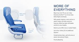 Klm Economy Comfort Delta Economy Comfort Domestic Launch And Tips On How To Get It