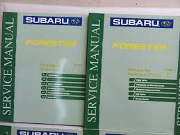2000 subaru forester service repair shop manual dealership factory
