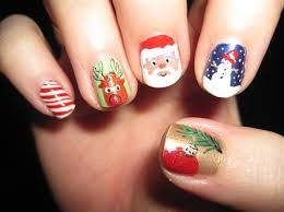 74 adorable holiday nail designs to try this christmas