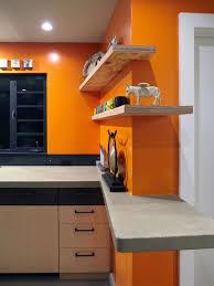 fresh traditional mansion kitchen orange cabinets with white