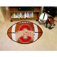 Ohio State Outdoor Rug Cheap Football Shaped Rug Find Football Shaped Rug Deals On Line