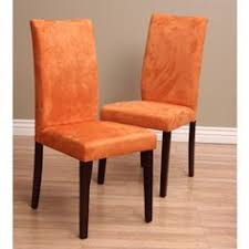 Microsuede Dining Chairs Zebra Print Microsuede Dining Chair Covers Set Of 2 Overstock