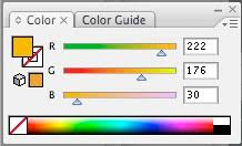 converting colors between different color systems font is
