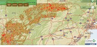 Map Pennsylvania Locate Gas Wells In Pa U2014 Easy Interactive Map New Ada Mae Compton