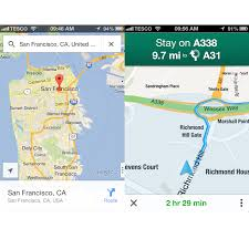 Map Street View Google Maps For Iphone Launched With Navigation Street View