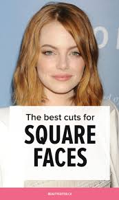 pictures of hair cuts for women with square jaws square face hairstyles female archives hairstyles and haircuts in 2018