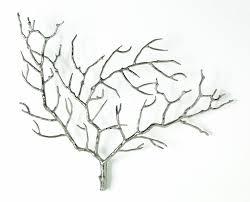 Home Decor Tree Branches Amazon Com Arteriors Edwin Metal Tree Branch Wall Sculpture Home