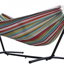 suesport hanging hammock chair with two cushions white