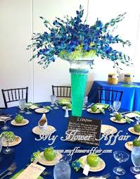 blue wedding gorgeous blue and green wedding decorations decoration blue and