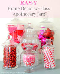 apothecary home decor easy home decor with glass apothecary jars