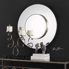 Uttermost Mirrors Free Shipping Odelia Contemporary Round Wall Mirror By Uttermost Innovations