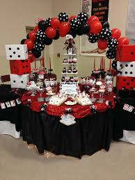 Party Table Decorating Ideas Best 25 Casino Theme Parties Ideas On Pinterest Casino Party