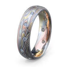 mokume gane gane wedding ring