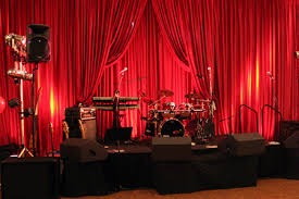 Portable Stage Curtain 1 Toronto Portable Stage Rentals Mobile Outdoor Stages Toronto