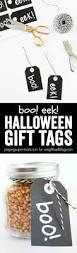 Gifts Halloween Boo Eek Halloween Gift Tags A Night Owl Blog