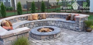 Backyard Paver Ideas Popular Of Backyard Ideas With Pavers Retaining Walls Paver Ideas