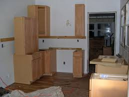 wall cabinets on floor installation tips cabinet joint