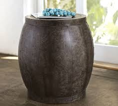 Barrel Side Table The Most Amazing Ceramic Barrel Side Table Side Table Furniture