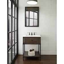 bathrooms design corner vanity sink white vanity black bathroom