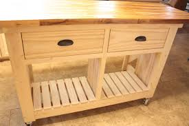 Kitchen Islands With Butcher Block Top Ana White Double Kitchen Island With Butcher Block Top Diy