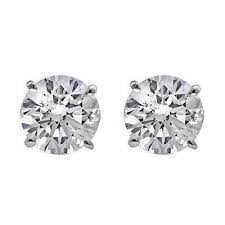 diamond stud earings diamond stud earrings williams diamond center