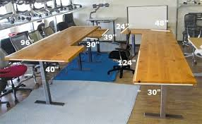 Bar Top 30 Desk How To Build An L Shaped Bar Top Desk 3 How To Build An L