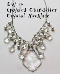 crystal necklace patterns images Wire wrapping for beginners day 16 upcycled chandelier crystal jpg