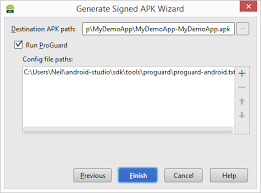 where are apk files stored generating a signed release apk file in android studio techotopia