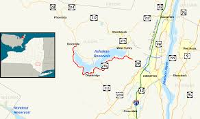 Road Map Of New York New York State Route 28a Wikipedia