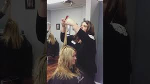 long french layers haircut class znevaehsalon youtube