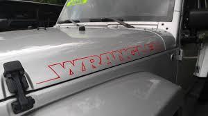 jeep hood decals product jeep wrangler stripes vinyl hood decal tj lj jk jku