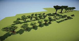 custom tree pack vol 2 tropical forest minecraft project
