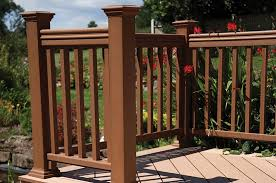 Decking Banister Timbertech Products Deking Railing Lighting And Finishing Touches