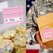 send cookies to soldiers free shipping to apo care package