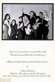 14 best kardashians christmas cards through the years images on